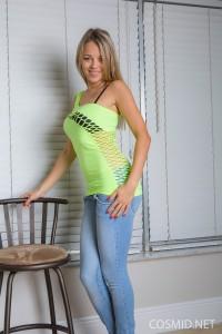 Kristina's Green Shirt