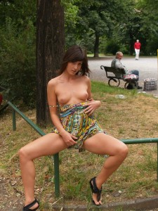 Hanging Around In The Park