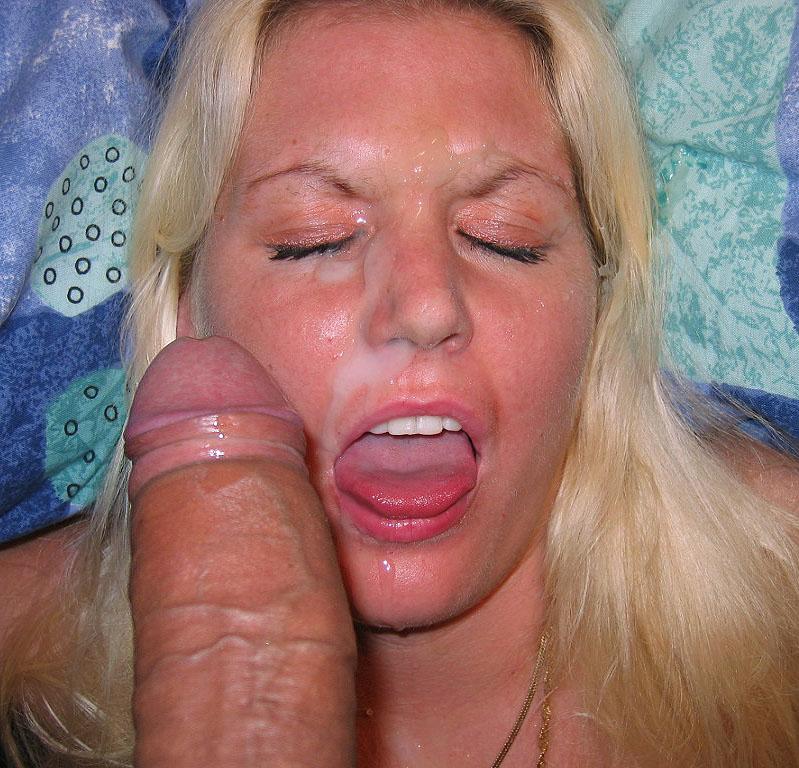 фото жены со спермой на литце