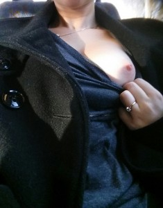 Peek a boo [f]rom the bus
