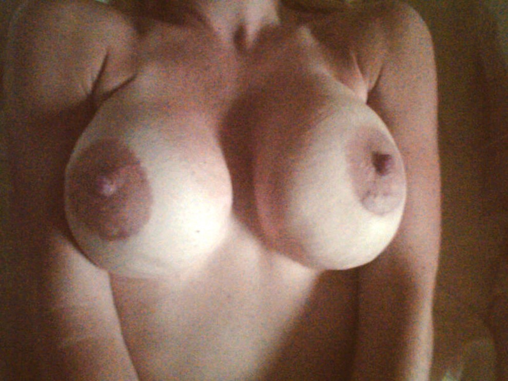 Pic of my tits while our 18 year old nephew fucked me