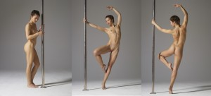 Mya - Nude Pole Dancing from Hegre Art
