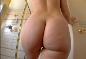 Busty Blonde MILF with Big Ass Takes Shower [Video in Comments]