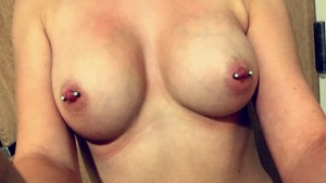 [F] just out of the shower! ;) A lot have asked