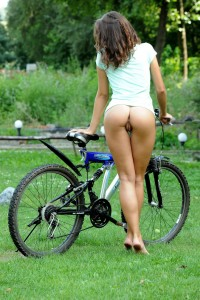 Forgot Her Riding Shorts