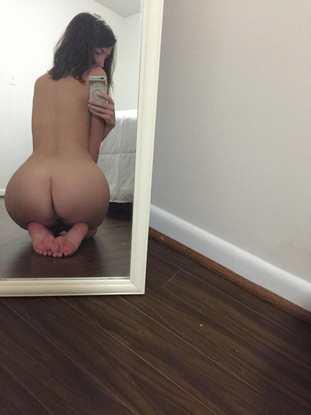 well here's my ass