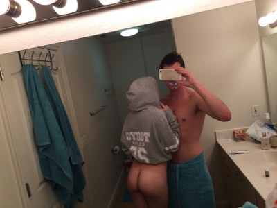 (M+F) thinking about showing our faces tonight