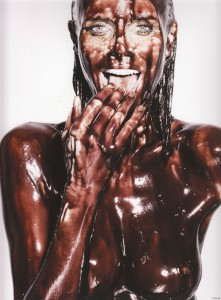 I would literally clean Heidi Klum up with my tongue.
