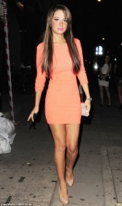 Bodycon dress by Tulisa
