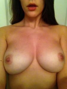 (F)inally get to take my bra off
