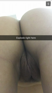I love cum on my ass and pussy [f]