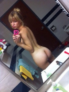 Nice tush