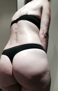 Does my (f)anny look too jiggly in this?
