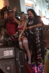 Saw Ron Jeremy at fantasy fest