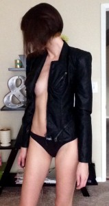 Feeling [f]risky in leather