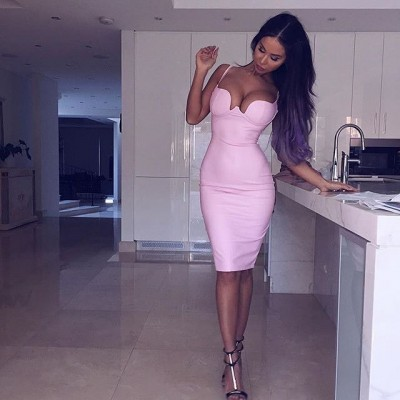 Long hair and heels