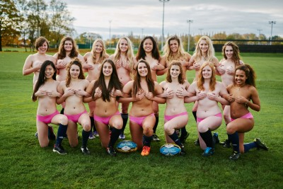 Liverpool University's Women's Rugby Team