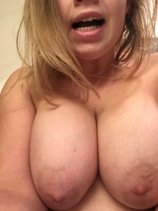 Cold Weather = Hard Nipples (f)