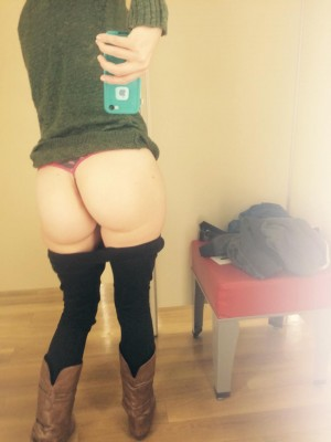 She sent this to me yesterday while she was black [F]riday shopping