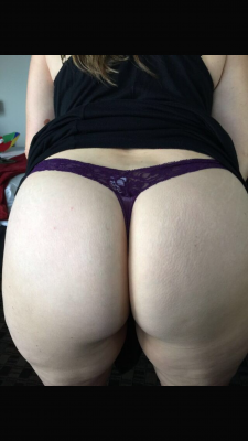 Thanks for the love! Here is one more showing of[f] my thong!