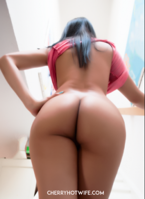 Thick asian ass.