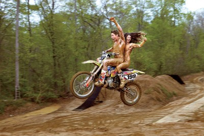 Travis and Lyn-Z Pastrana