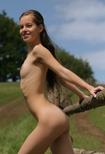 Skinny little farm girl (have a gallery if there's interest)