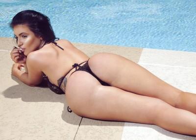 Poolside butt