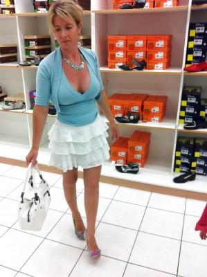 All of a sudden I wish I was a shoe salesman