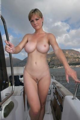 Boat babe