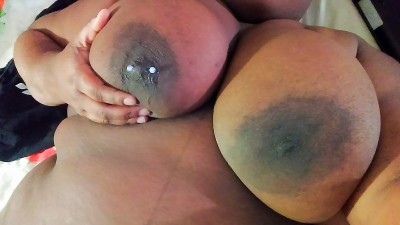 My boob looks red like it got a really good spanking