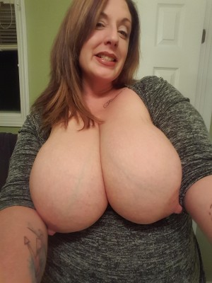 Boobies and a smile
