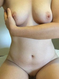 My boobs need some attention... I make myself cum but it isn't enough