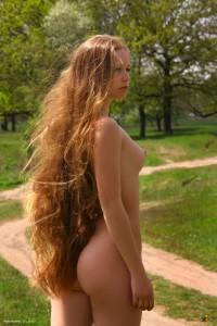 long haired ginger