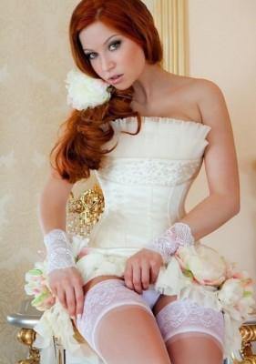 Wedding day lingerie