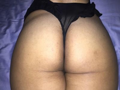A random shot of my ass in thong