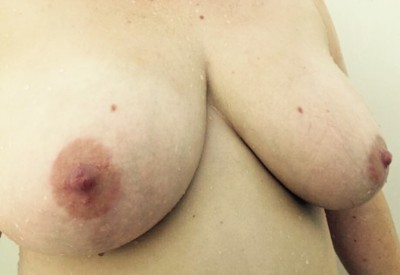 It's been way too long. Enjoy some wet shower boobs [F]!