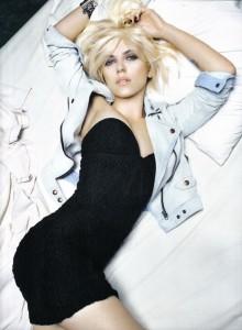 Scarlett in black