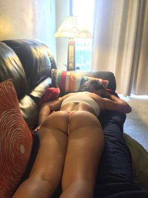 Love when my gf sleeps in her panties