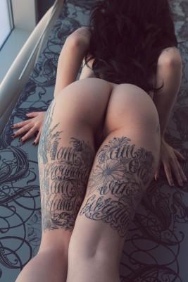 Upper thighs