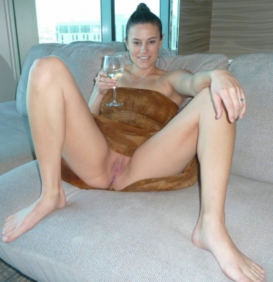White Wine and Smooth Pussy