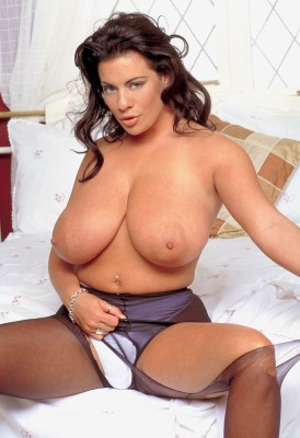 Linsey Dawn Mckenzie ripping up her clothing