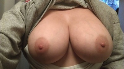 As I gain weight it becomes apparent that my right breast is indeed larger than my left.
