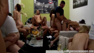 Home made Crew Swingers Orgy