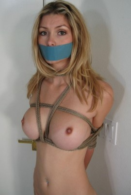 tied lightly