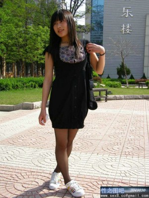 Lovely Chinese college girl
