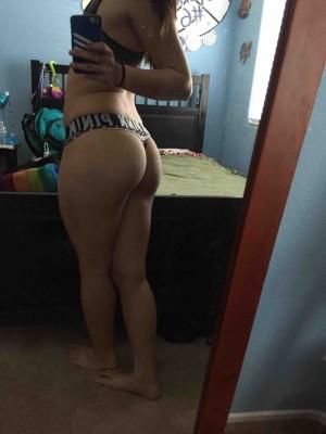 PINK panties & a BIG booty [f]