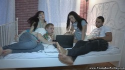Four-way with ex and his fresh girlfriend