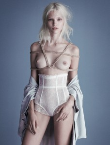 Sasha Luss is the very definition of Ethereal (X-Post /r/PaleGirls)