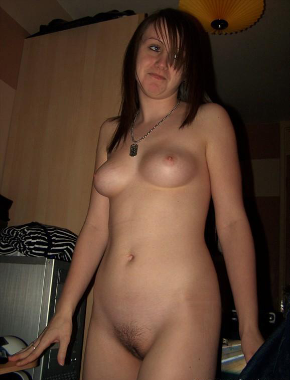 Amateur girl with a few days' growth (1 MIC)
